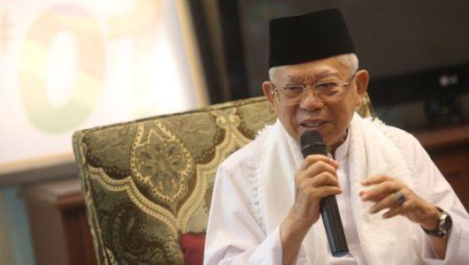 maruf-amin-tanggapi-prabowo-indonesia-tidak-akan-punah-memang-hewan-purba